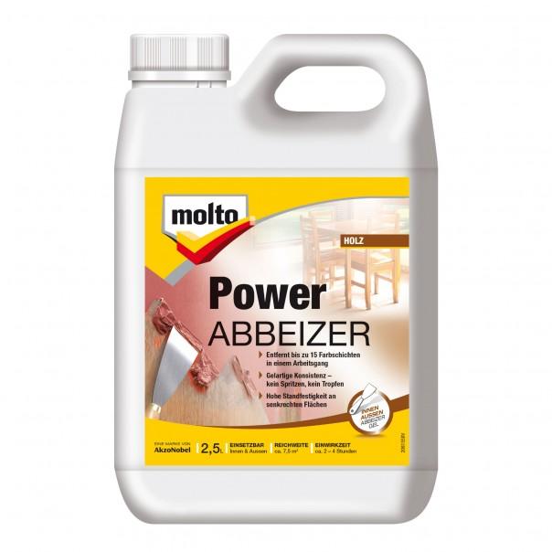 Favorit Molto Power Abbeizer - 15 Farbschichten in einmal abbeizen YM69