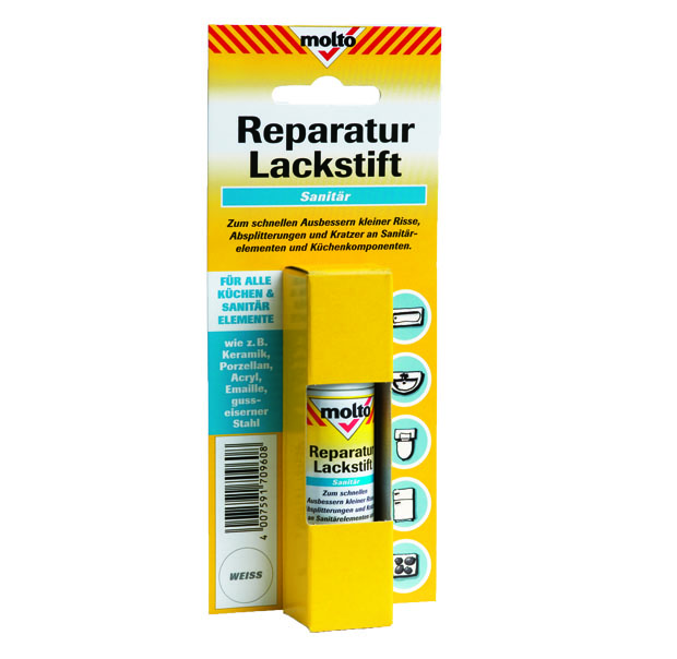 Molto Reparatur Lackstift Zur schnellen Reparatur in Bad