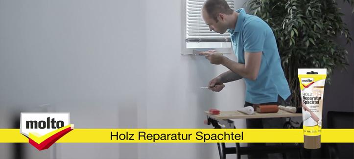 Molto Holz Reparatur Spachtel Anleitung Holz Reparieren